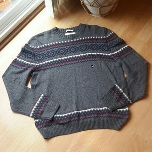 ABERCROMBIE & FITCH | Men's Fair Isle Sweater NWOT
